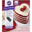 Molde Corazon Layer Cakes ( 5 u. )