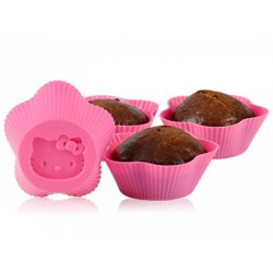 Set 6 Muffins Hello Kitty