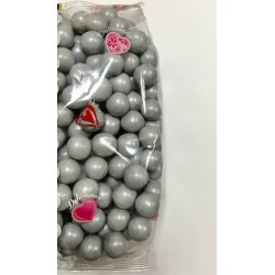 Bolas Chocolate Deluxe Plata 22 mm ( 1 Kg )